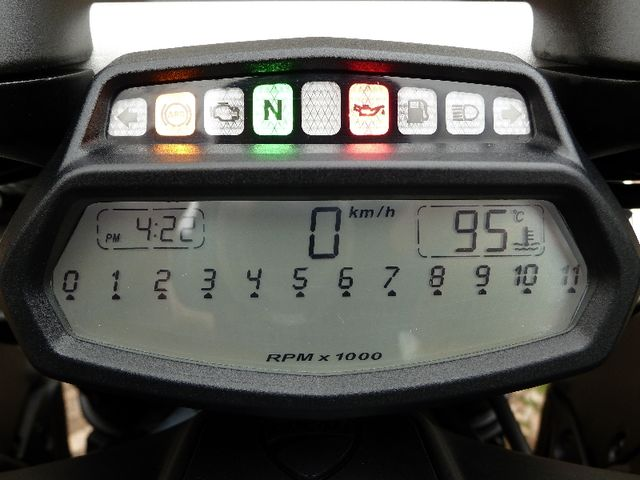 Compteur guidon Ducati Diavel