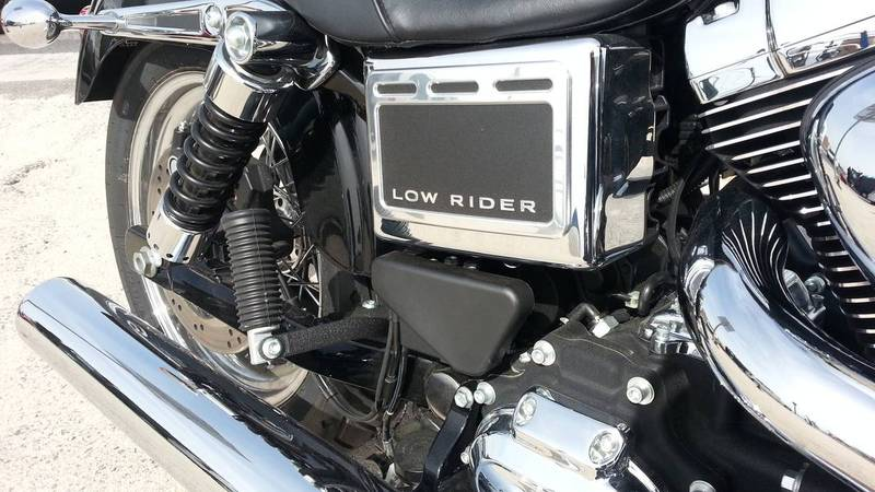 Cache Batterie Harley Low Rider