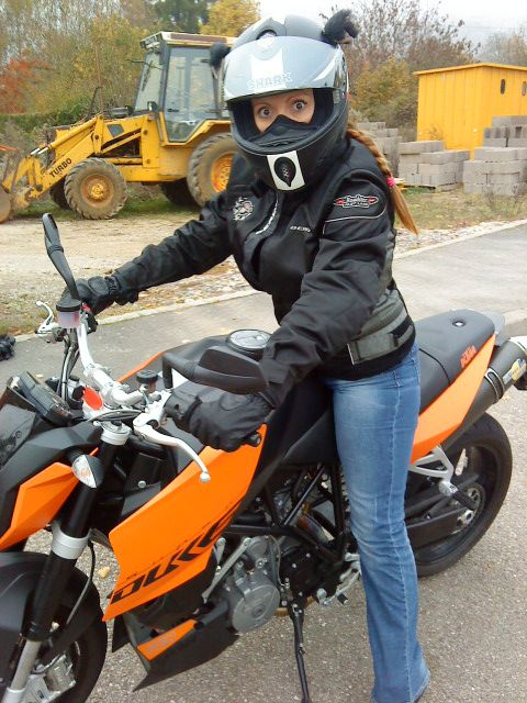 KTM 990 Super Duke Arssouillette