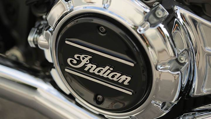 Indian Scoot carter moteur