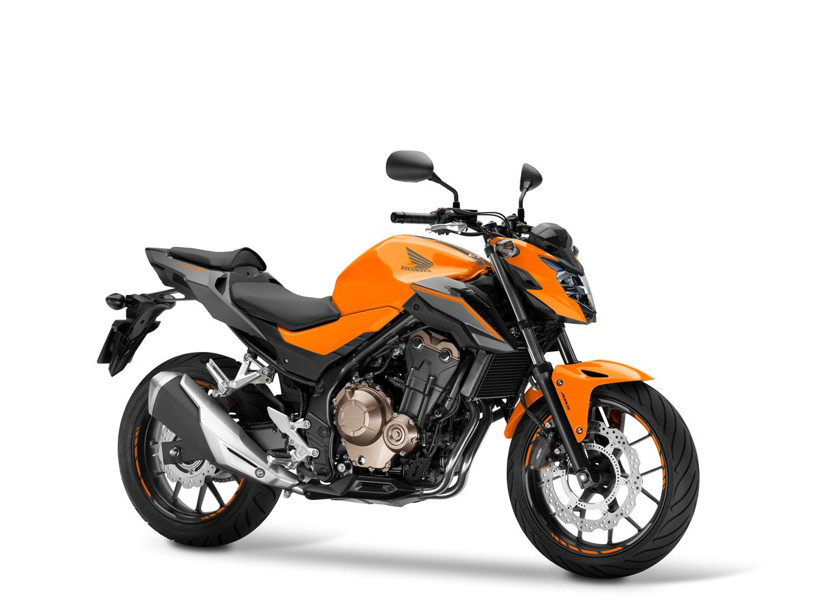 Honda CB500F 2016 orange