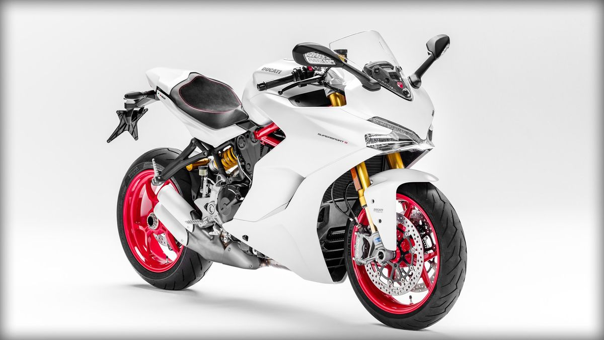 Ducati SuperSport S 2017 blanche