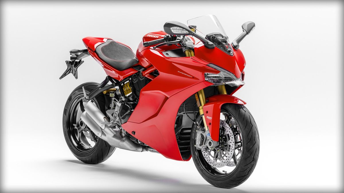 Ducati SuperSport S 2017 rouge