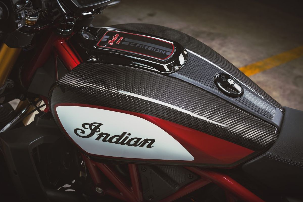 Réservoir Indian FTR 1200 Carbon