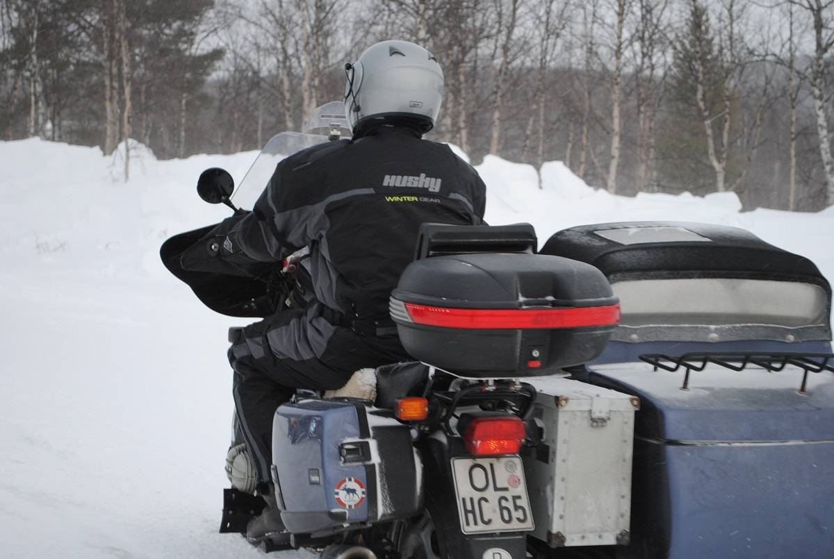 Equipement scooter ou moto hiver