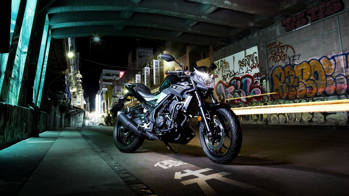 Miniature Yamaha MT-03 2016