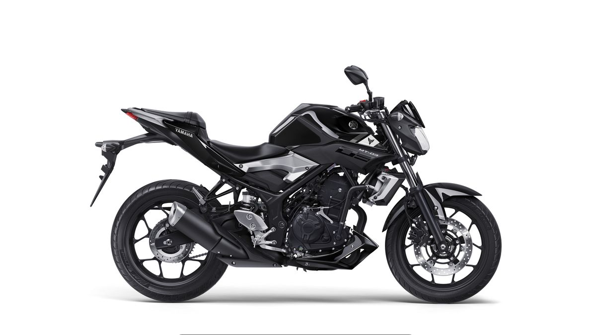 Yamaha MT-03 2016 coloris Midnight Black