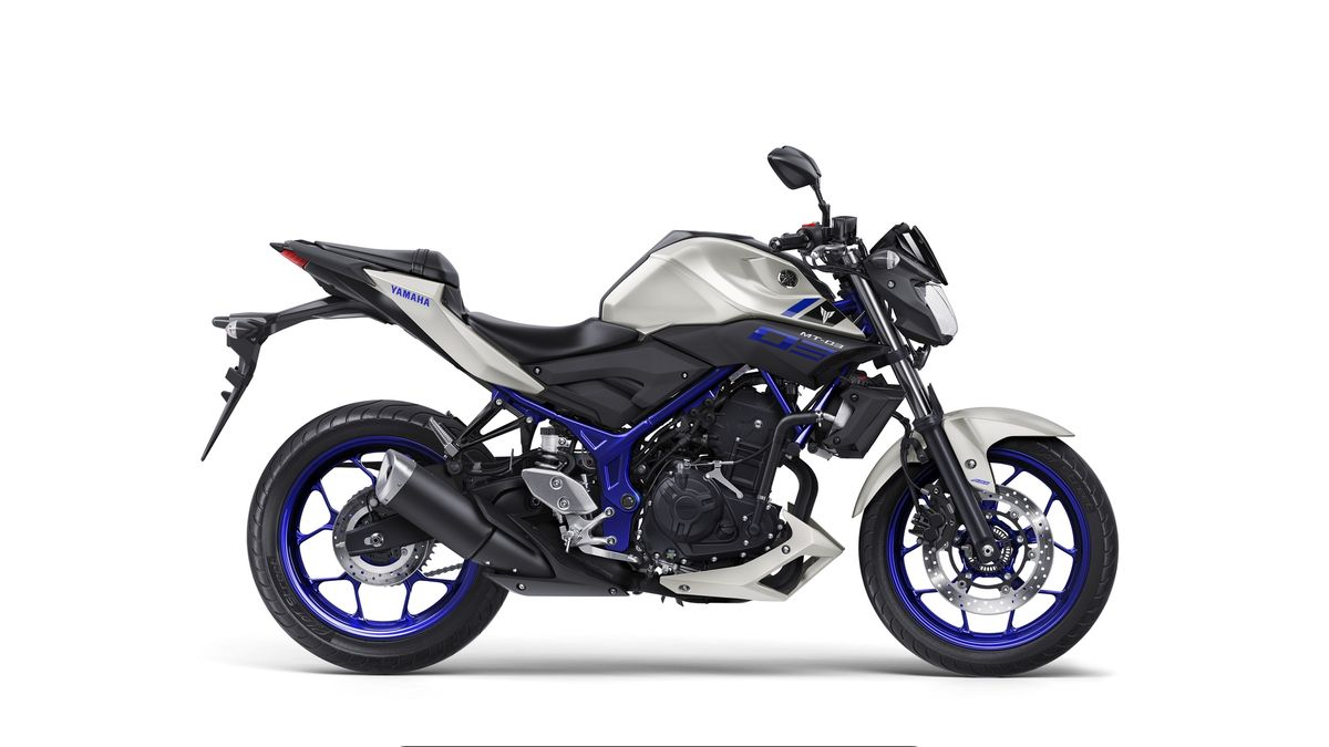 Yamaha MT-03 2016 coloris Race Blu