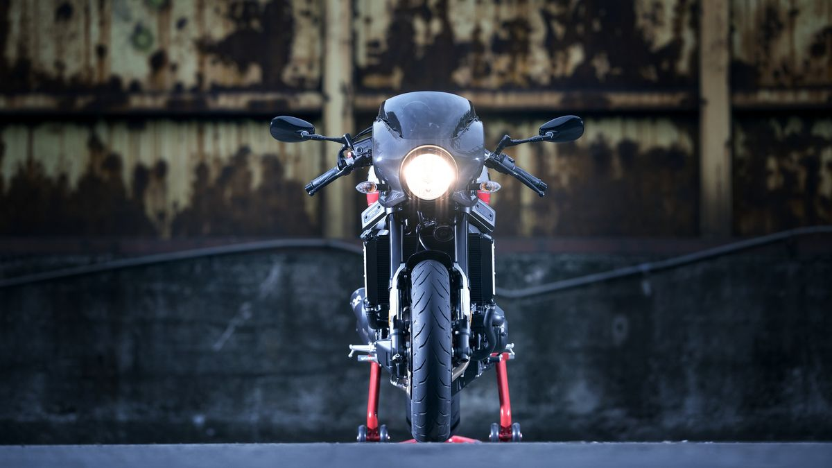 Miniature Yamaha XSR 900 Abarth