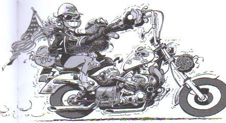 Moto addict - Dessin motard humoristique ...