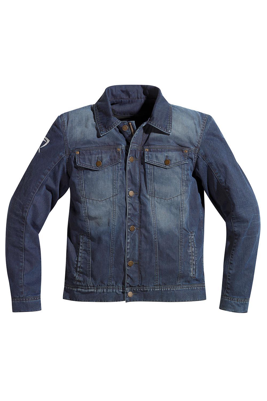 blousons moto en jeans style l 39 am ricaine. Black Bedroom Furniture Sets. Home Design Ideas