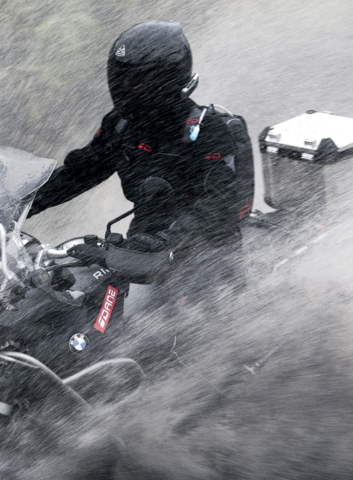 Blouson moto homme gore tex
